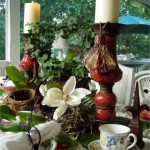 A Nature Lovers Table Setting