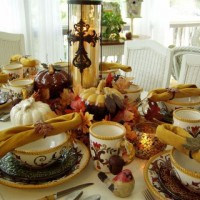 A Table Setting to Welcome Autumn