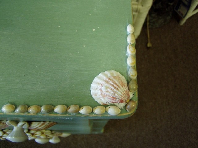 Chest Decorated with Shells