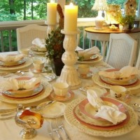 Pretty in Pink Cottage Tablescape
