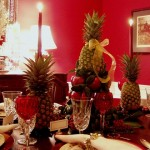 Christmas Table Setting with Lenox, Winter Greetings