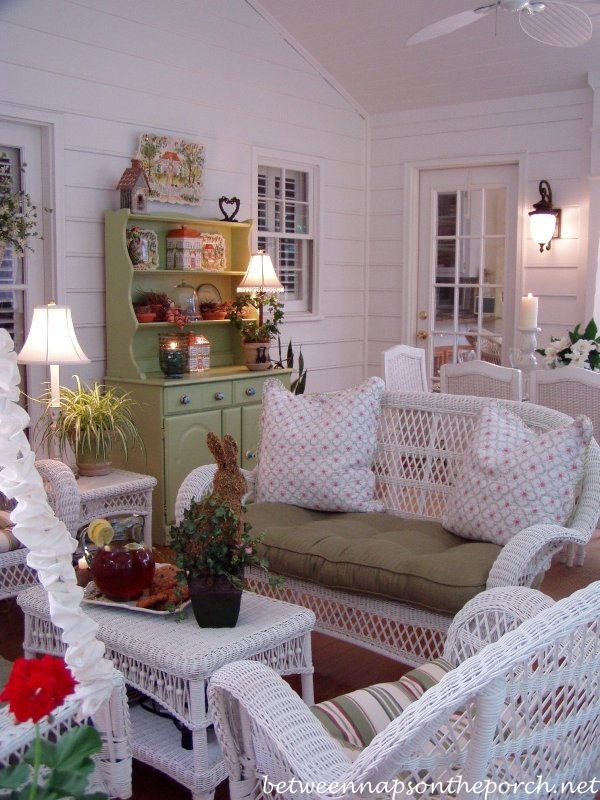 Painted Furniture for the Porch_wm