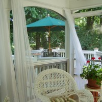 Adding Curtains or Sheers to Your Porch