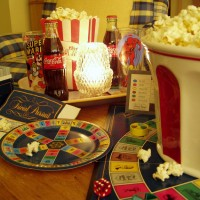 Popcorn Party & Game Night with Trivial Pursuit