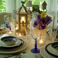 Tablescaping with Blue Willow