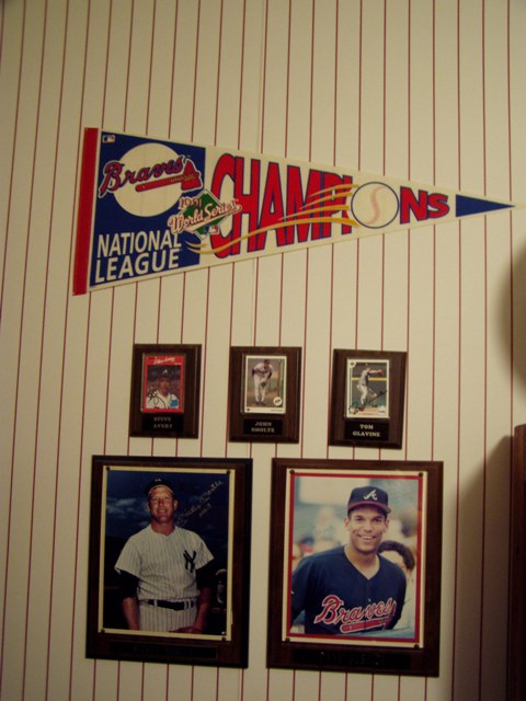 Baseball Themed Boy's Bedroom