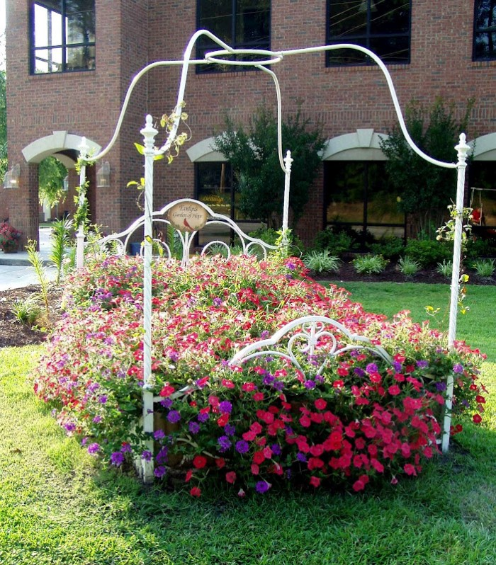 A Real Flower Bed for the Garden