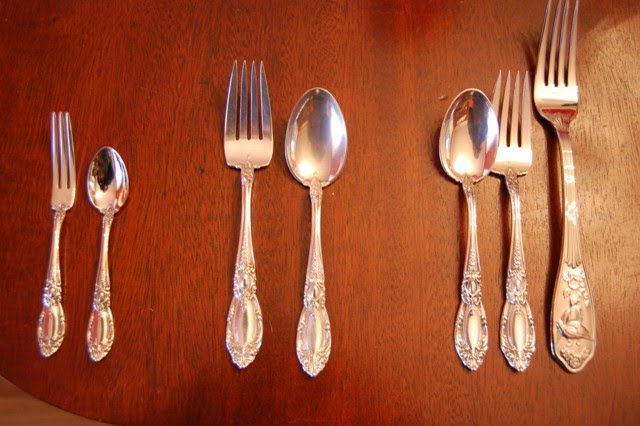 Patina on Sterling Flatware