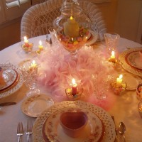 Valentine's Day Tablescape: Be Mine