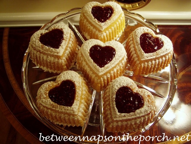 Heart Cakes for Valentine's Day