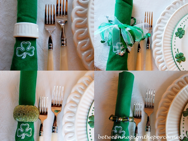 St. Patrick's Day Napkin Rings