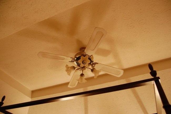 A crystal chandelier for the master bedroom - Master bedroom ceiling fans ...