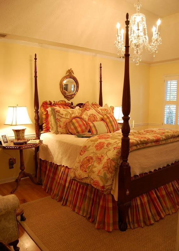 Crystal Chandelier for the Master Bedroom