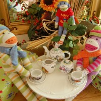 An Impromptu Tea Party, Mad Hatter Style