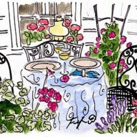 Painting a Tablescape