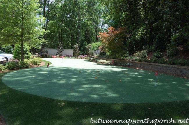 Putting Green, Garden Tour of Arthur Blank's Garden, Atlanta Botanical Gardens, Gardens for Connoisseurs Tour