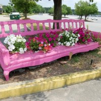 A Whimsical Idea for a Garden Bench