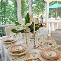 Bridal Shower or Mother's Day Table Setting