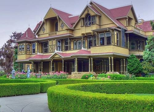 Winchester Mystery House in CA