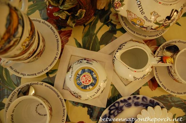 Alice in Wonderland Paul Cardew Tea Party