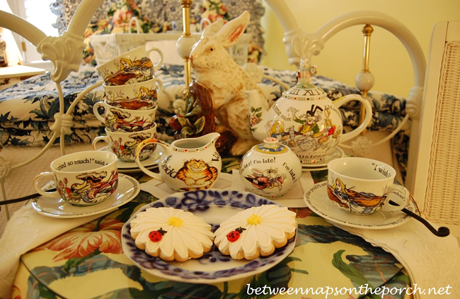 Alice in Wonderland Tea Party in the Guest Room