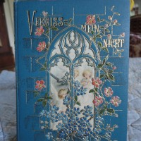 Antique Forget-Me-Not Book