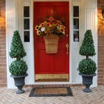 An Autumn Basket for the Front Door