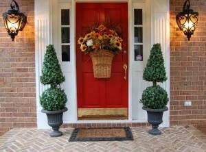 Autumn Basket for the Front Door
