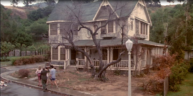 The house in the movie, The Burbs
