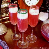 Champagne Punch Great For Christmas or New Year's Party