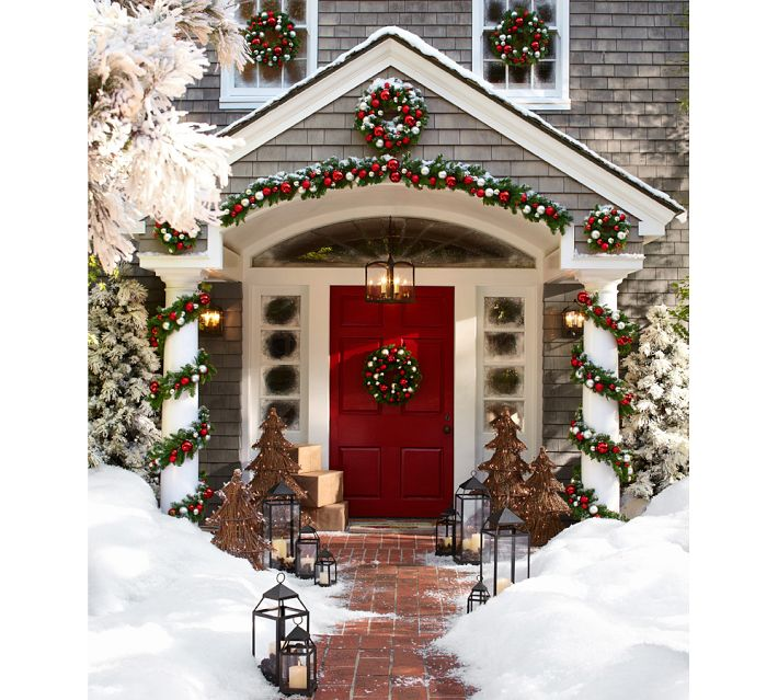 Christmas Porch Decorating & Christmas Party Recipes