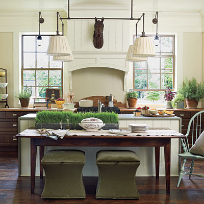 Southern Living Idea House, Kitchen And Dining Room Tour