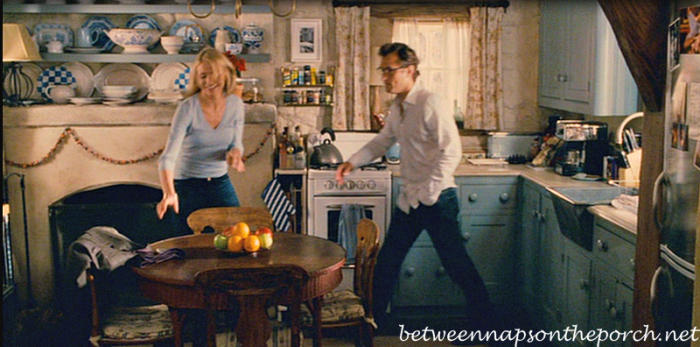Cozy Kitchen in Movie, The Holiday_wm