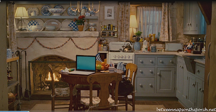 Kitchen in Movie, the Holiday