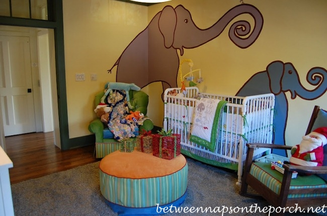 Nursery in Southern Living Idea House in Senoia Georgia