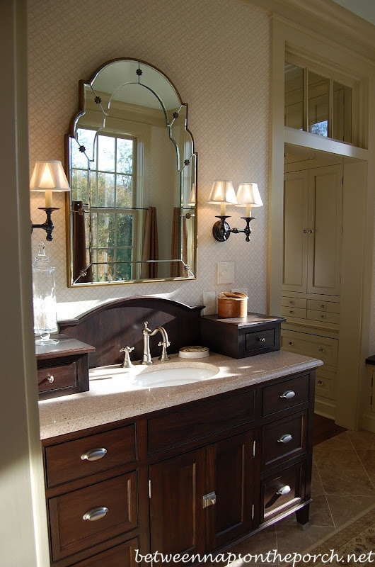 Bath in Southern Living Idea House in Senoia Georgia