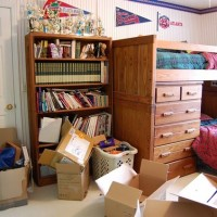 Creation of a Home Office, Sewing, Craft Room