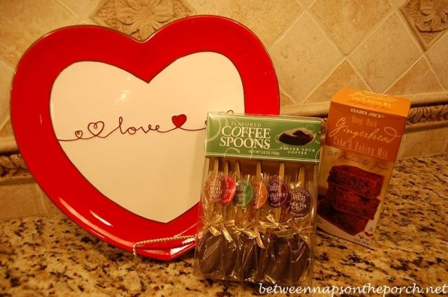 Heart Platter for Valentine's Day