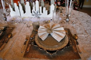 New Year's Table Setting