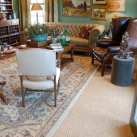 Southern Living Idea House Entertainment Room, Living Room and Sewing, Craft Room