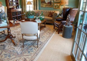 Formal Living Room Becomes Fabulous Craft Room