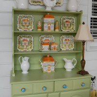 Porch Hutch from Fall to Spring