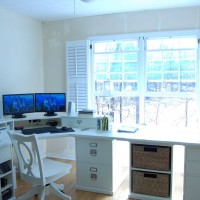 Pottery Barn Bedford Home Office Update