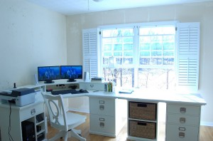 pottery barn home office. pottery barn bedford home office update