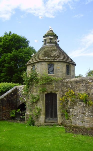 Dovecote In The Garden Landscape