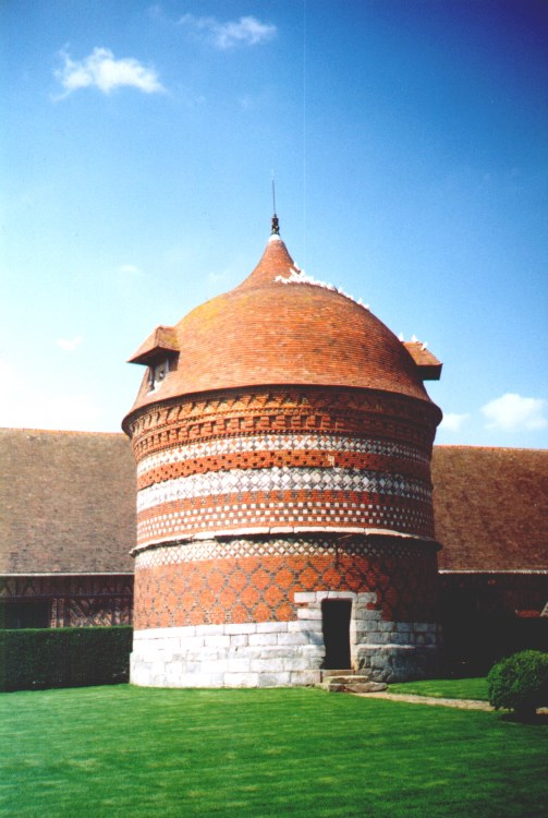 Manoir d'ango Dovecote in France
