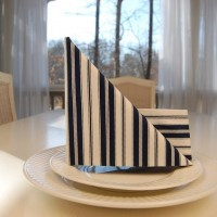 Sailboat Napkin Fold
