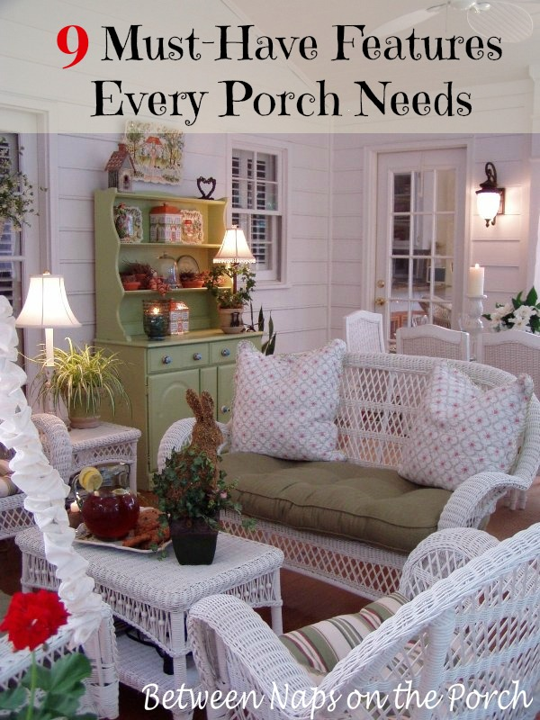 9 Great Features to Include in a Screened Porch