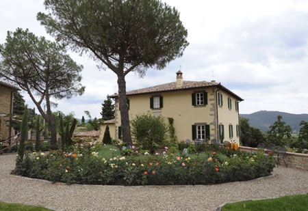 Villa Laura Used in Under The Tuscan Sun