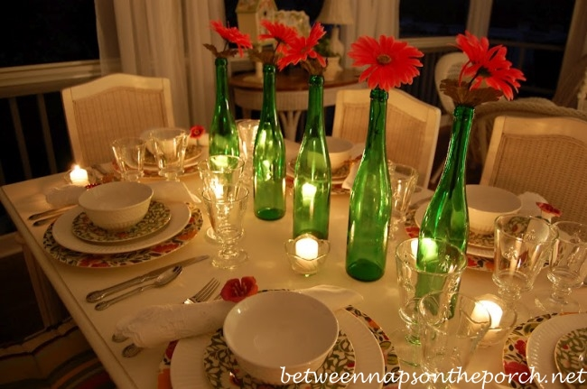 Spring Summer Table Setting Tablescape With Emma S Garland